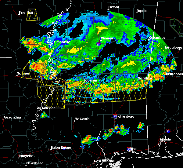 Radar Image for Severe Thunderstorms near Crystal Springs, MS at 6/5/2020 7:23 PM CDT