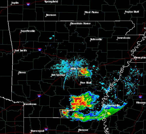 Radar Image for Severe Thunderstorms near Keo, AR at 6/5/2020 8:38 PM CDT