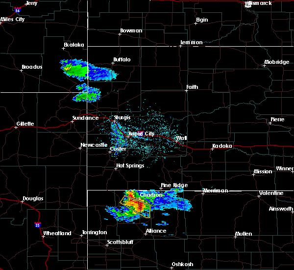 Radar Image for Severe Thunderstorms near Hay Springs, NE at 6/5/2020 8:57 PM MDT