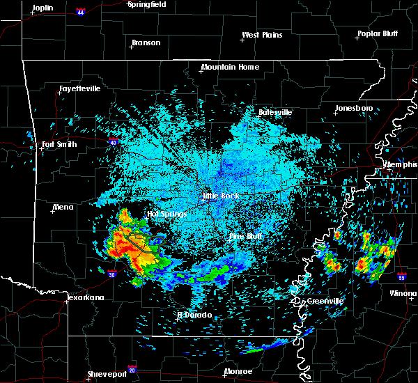 Radar Image for Severe Thunderstorms near Delight, AR at 6/6/2020 12:18 AM CDT