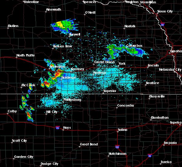 Radar Image for Severe Thunderstorms near Elwood, NE at 6/6/2020 8:42 AM CDT