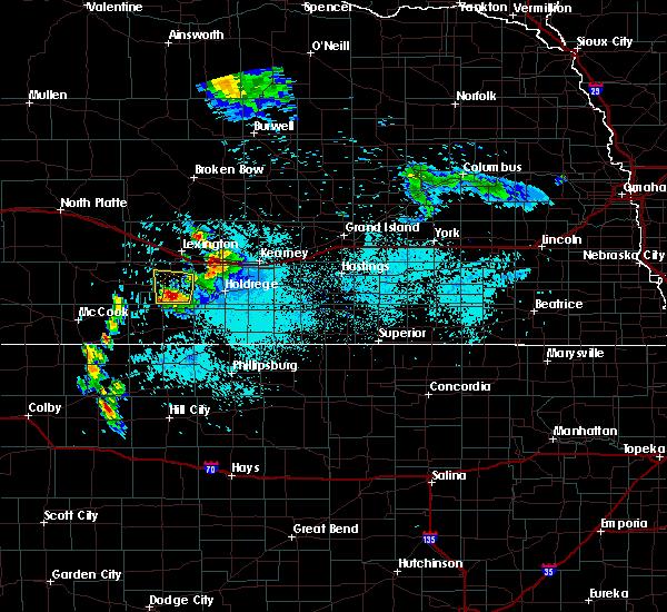 Radar Image for Severe Thunderstorms near Elwood, NE at 6/6/2020 8:52 AM CDT