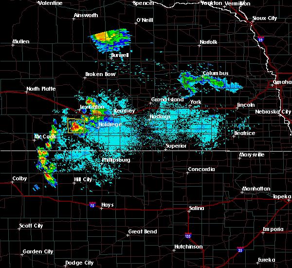 Radar Image for Severe Thunderstorms near Elwood, NE at 6/6/2020 9:03 AM CDT
