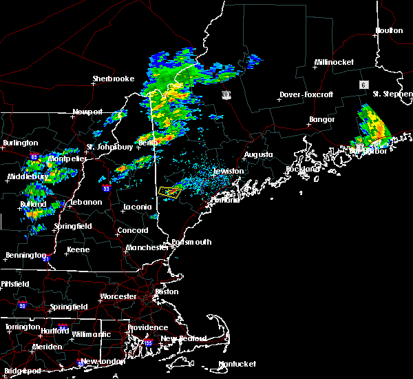 Radar Image for Severe Thunderstorms near Steep Falls, ME at 6/6/2020 10:18 AM EDT