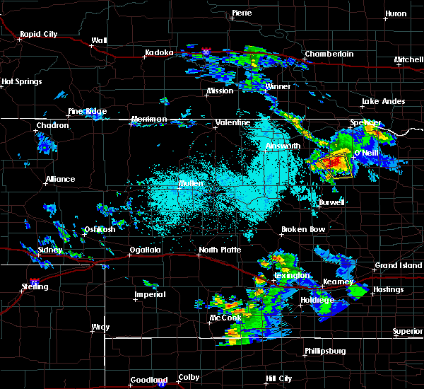 Radar Image for Severe Thunderstorms near Atkinson, NE at 6/6/2020 10:33 AM CDT