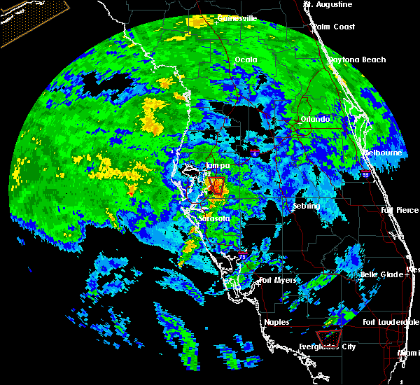 Radar Image for Severe Thunderstorms near Bloomingdale, FL at 6/6/2020 12:03 PM EDT