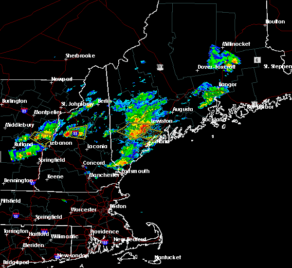 Radar Image for Severe Thunderstorms near Gray, ME at 6/6/2020 1:01 PM EDT
