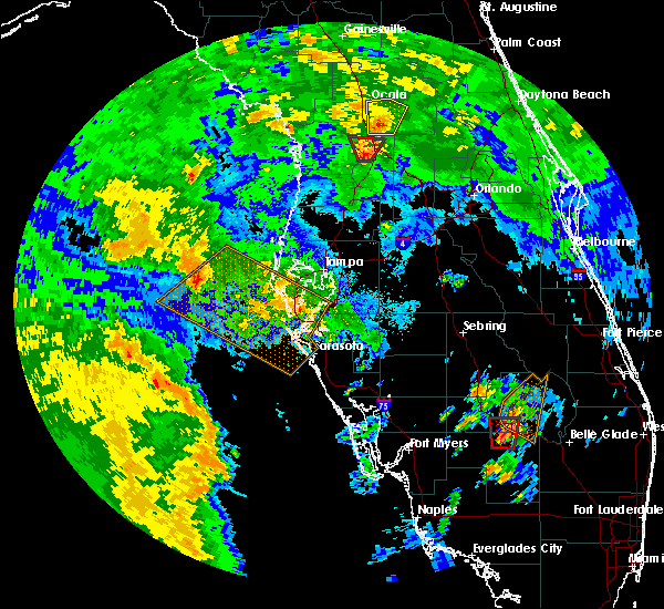 Radar Image for Severe Thunderstorms near Lake Panasoffkee, FL at 6/6/2020 3:47 PM EDT