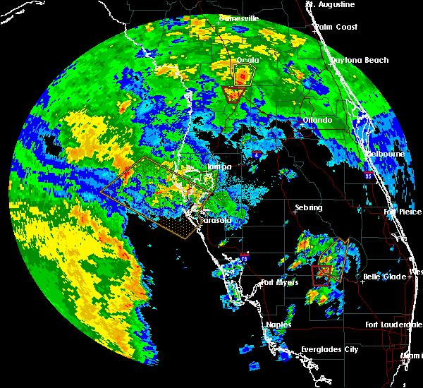 Radar Image for Severe Thunderstorms near Lake Panasoffkee, FL at 6/6/2020 3:54 PM EDT