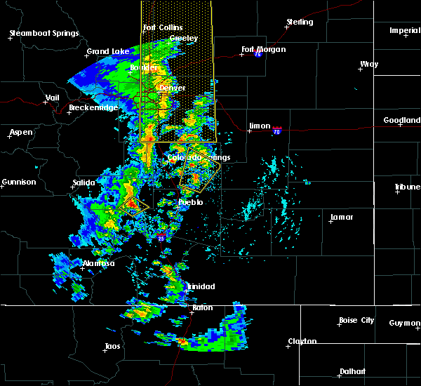 Radar Image for Severe Thunderstorms near Monument, CO at 6/6/2020 4:04 PM MDT