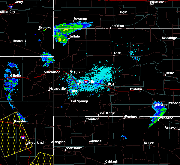 Radar Image for Severe Thunderstorms near Sleepy Hollow, WY at 6/6/2020 4:32 PM MDT