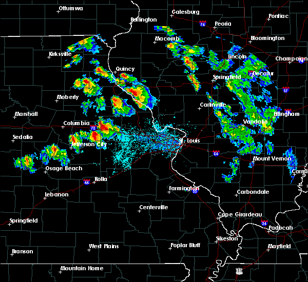 Radar Image for Severe Thunderstorms near New Canton, IL at 6/28/2015 5:37 PM CDT