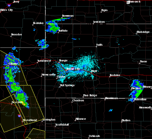 Radar Image for Severe Thunderstorms near Sleepy Hollow, WY at 6/6/2020 4:46 PM MDT