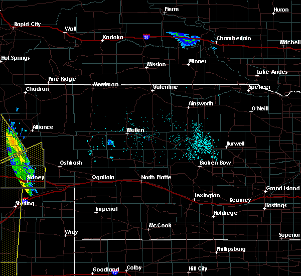 Radar Image for Severe Thunderstorms near Venango, NE at 6/6/2020 6:00 PM MDT