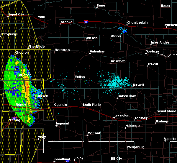 Radar Image for Severe Thunderstorms near Clinton, NE at 6/6/2020 6:38 PM MDT