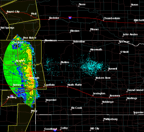Radar Image for Severe Thunderstorms near Clinton, NE at 6/6/2020 7:04 PM MDT