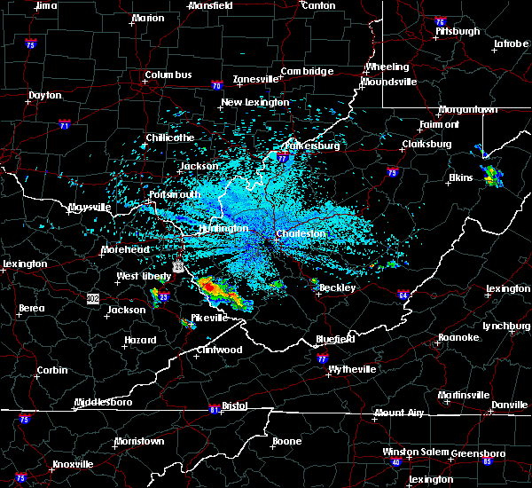 Radar Image for Severe Thunderstorms near Red Jacket, WV at 6/6/2020 11:18 PM EDT