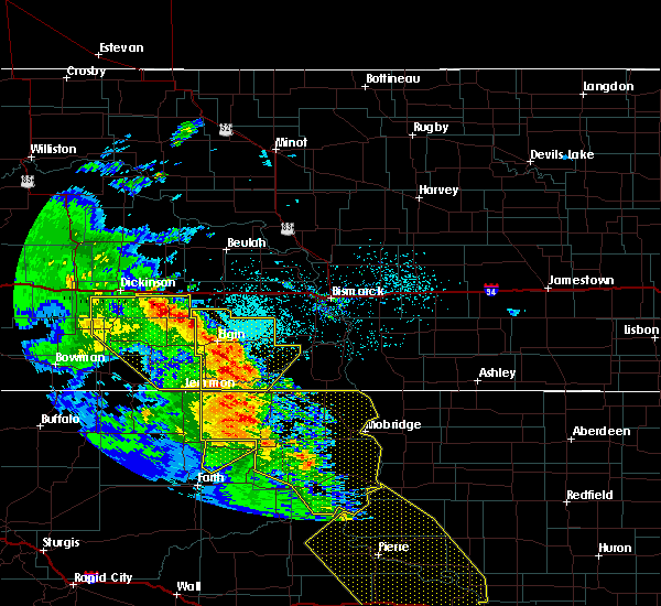 Radar Image for Severe Thunderstorms near Solen, ND at 6/6/2020 9:27 PM MDT