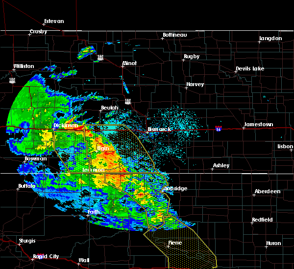 Radar Image for Severe Thunderstorms near McIntosh, SD at 6/6/2020 9:38 PM MDT