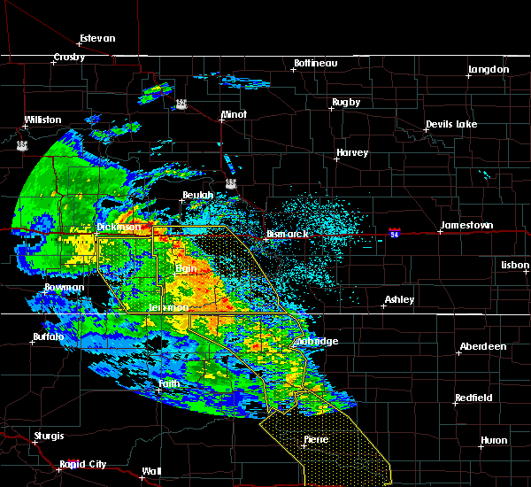 Radar Image for Severe Thunderstorms near Solen, ND at 6/6/2020 9:42 PM MDT