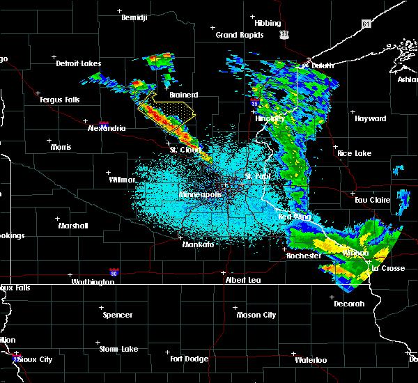 Radar Image for Severe Thunderstorms near Elk River, MN at 6/7/2020 2:06 AM CDT