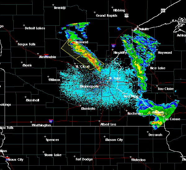 Radar Image for Severe Thunderstorms near St. Francis, MN at 6/7/2020 2:37 AM CDT
