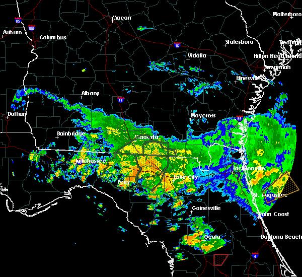 Radar Image for Severe Thunderstorms near Lake City, FL at 6/7/2020 3:18 PM EDT