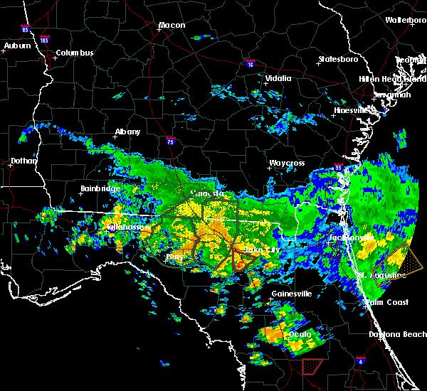 Radar Image for Severe Thunderstorms near Lake City, FL at 6/7/2020 3:30 PM EDT