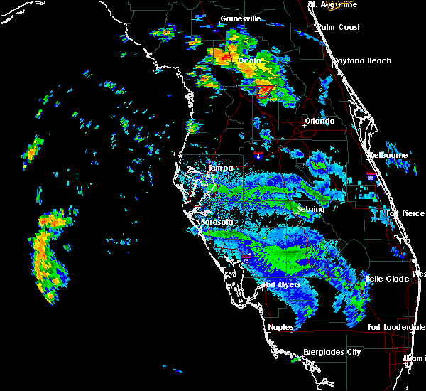 Radar Image for Severe Thunderstorms near Lady Lake, FL at 6/7/2020 3:32 PM EDT