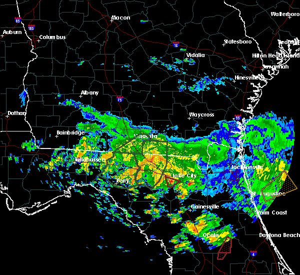 Radar Image for Severe Thunderstorms near Lake City, FL at 6/7/2020 3:46 PM EDT