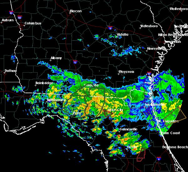 Radar Image for Severe Thunderstorms near Lake City, FL at 6/7/2020 3:58 PM EDT