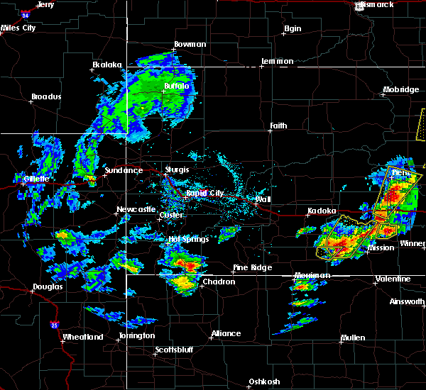 Radar Image for Severe Thunderstorms near Two Strike, SD at 6/7/2020 5:57 PM CDT