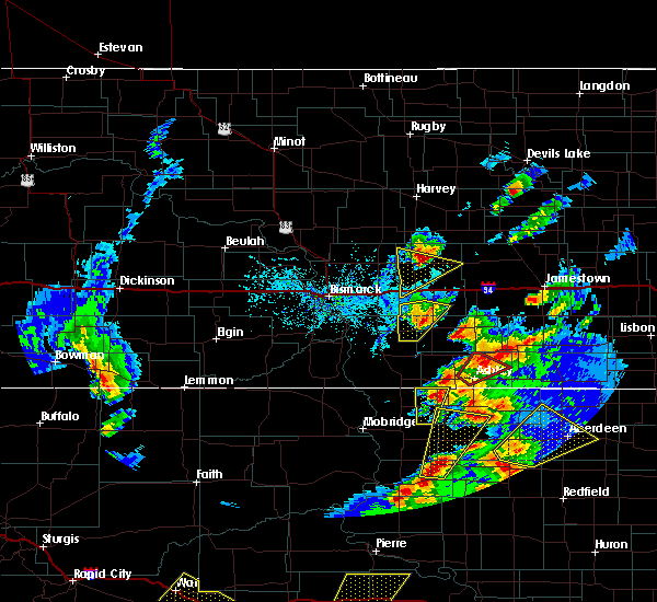 Radar Image for Severe Thunderstorms near Pettibone, ND at 6/7/2020 7:04 PM CDT