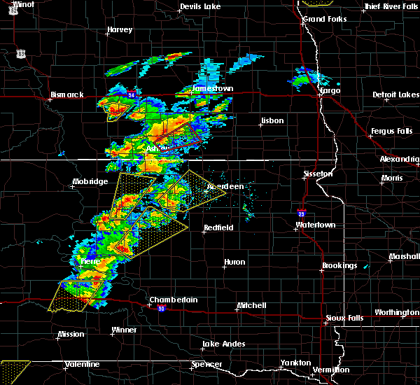 Radar Image for Severe Thunderstorms near Rockham, SD at 6/7/2020 7:18 PM CDT