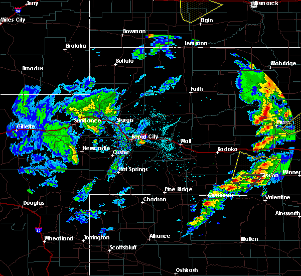 Radar Image for Severe Thunderstorms near Mission, SD at 6/7/2020 9:00 PM CDT