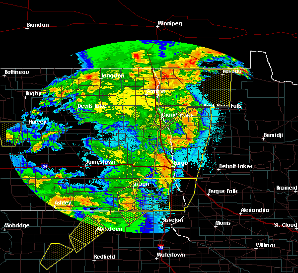 Radar Image for Severe Thunderstorms near Twin Lakes, MN at 6/7/2020 10:17 PM CDT