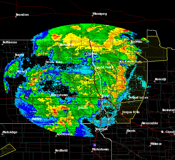 Radar Image for Severe Thunderstorms near Twin Lakes, MN at 6/7/2020 10:58 PM CDT