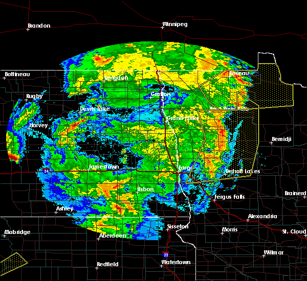 Radar Image for Severe Thunderstorms near Twin Lakes, MN at 6/7/2020 11:11 PM CDT