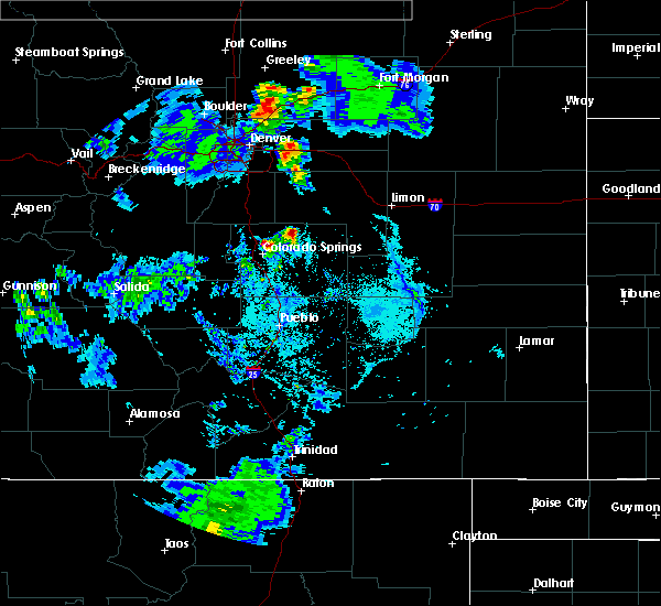 Radar Image for Severe Thunderstorms near Security-Widefield, CO at 6/28/2015 6:28 PM MDT