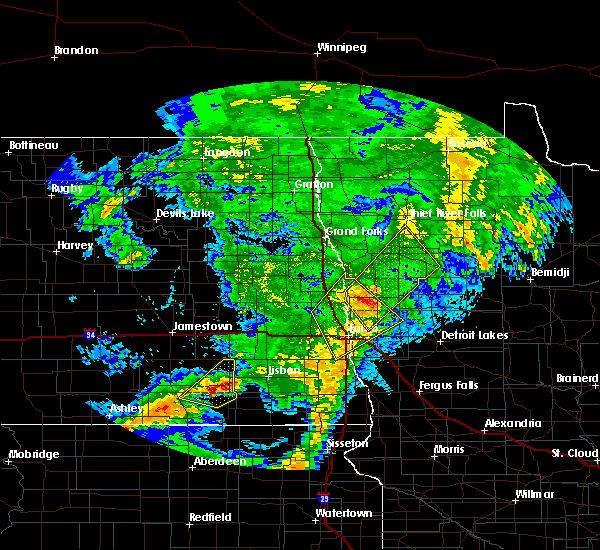 Radar Image for Severe Thunderstorms near Felton, MN at 6/8/2020 12:31 AM CDT