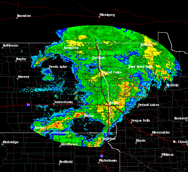 Radar Image for Severe Thunderstorms near Twin Lakes, MN at 6/8/2020 12:48 AM CDT