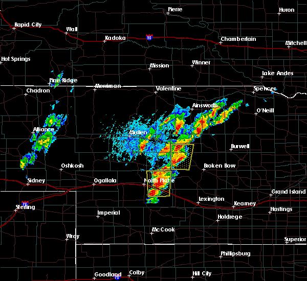 Radar Image for Severe Thunderstorms near Maxwell, NE at 6/8/2020 6:56 PM CDT