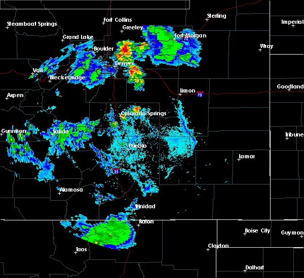 Radar Image for Severe Thunderstorms near Security-Widefield, CO at 6/28/2015 6:41 PM MDT