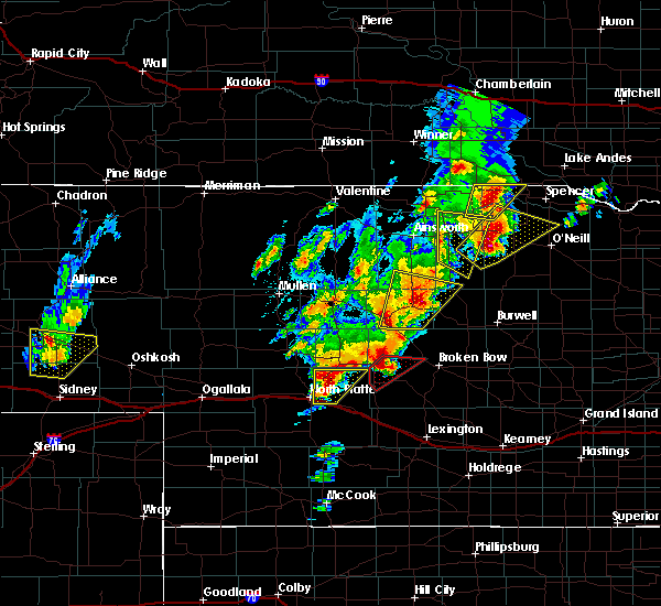 Radar Image for Severe Thunderstorms near Atkinson, NE at 6/8/2020 8:17 PM CDT