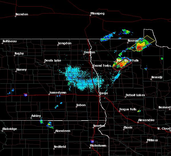Radar Image for Severe Thunderstorms near Goodridge, MN at 6/8/2020 8:35 PM CDT