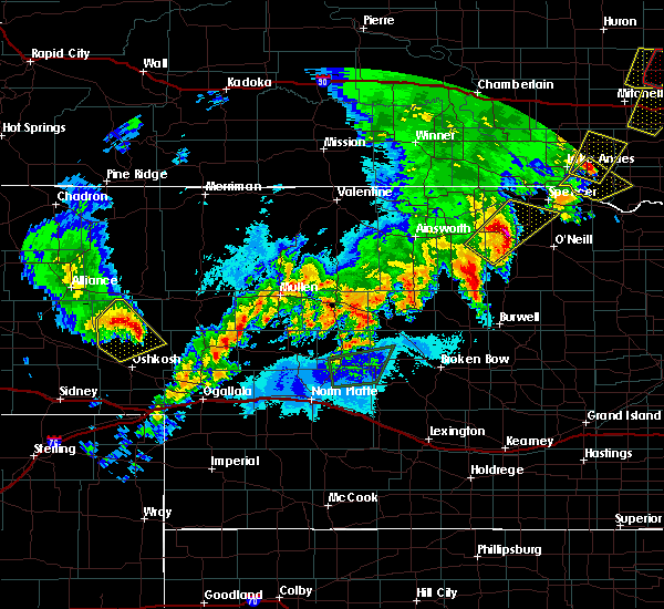 Radar Image for Severe Thunderstorms near Atkinson, NE at 6/8/2020 11:25 PM CDT