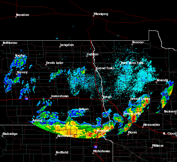 Radar Image for Severe Thunderstorms near Battle Lake, MN at 6/9/2020 12:21 AM CDT