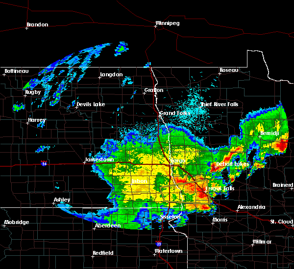 Radar Image for Severe Thunderstorms near Battle Lake, MN at 6/9/2020 2:30 AM CDT