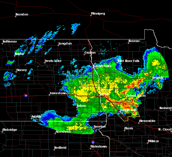 Radar Image for Severe Thunderstorms near Battle Lake, MN at 6/9/2020 3:06 AM CDT
