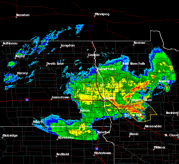 Radar Image for Severe Thunderstorms near Battle Lake, MN at 6/9/2020 3:10 AM CDT